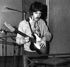 Paul tracking solos to Good Morning & Benefit of Mr Kite. Sgt Peppers, 1967
