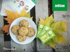 Babeczki z płatkami owsianymi, bananami a do tego siemie lniane, saszetka Jelitonu i otręby! Jest słodko i zdrowo ;) #jeliton #AmbasadorJeliton #rekomendujto #buzzmedia