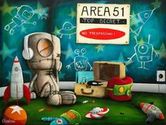 Area 51 | compelling art from an artist with a voice  | Fabian Napoliani