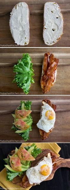 FooF Drink: How To Breakfast BLT Sandwich