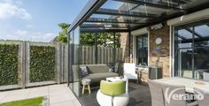 Referentie #terrasoverkapping V920-Riva #veranda #outdoorliving #reference