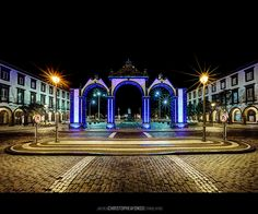 Ponta Delgada, Azores, Portugal  - Good memories my husband and I hanging out in this city.