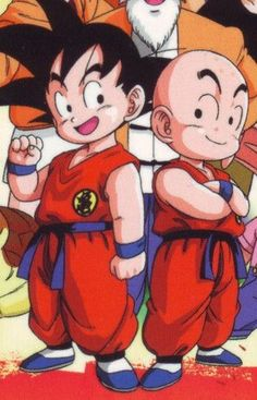 Goku and Krillin best friends till the end Dbz, Dragon Ball Z, Manga Dragon, Cartoon Clip, Gamers Anime, Fan Art, Image Manga, Son Goku, Anime Comics