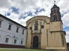 Templo de la Compañía en Pátzcuaro, ubicado a corta distancia de Hotel Mansión Iturbe