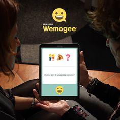 Avete già scaricato #SamsungWemogee? Scoprite la prima app che restituisce la possibilità di comunicare a chi soffre di afasia: dalle parole agli emoji, per abbattere ogni barriera comunicativa 👉 http://wemogee.com/it