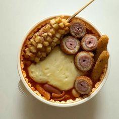 Think Food, I Love Food, Good Food, Yummy Food, Korean Street Food, South Korean Food, Salty Foods, Food Goals, Cafe Food