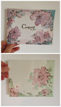 Creating Mail Art Card and Envelope Congratulations for a Graduation  #mailart #snailmail #happymail