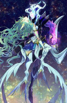 Star Guardian Soraka & Dark star Varus | Звездная защитница Сорака & Тёмная звезда Варус @League of Legends | Лига Легенд #LoL #ЛоЛ
