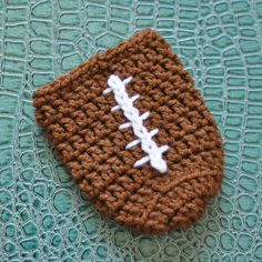 PDF Game Day Football Can Cozy Crochet Pattern
