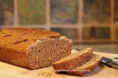 Gluten Free, Dairy Free Pumpkin Bread