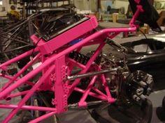Miller Race Cars Custom Car Builder Purple Chassis 3 Drag