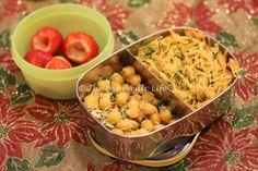 Semia Upma - Sundal - Kid Lunch