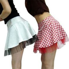 Circle mini skirt self drafted pattern