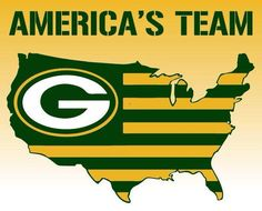 Who is America's REAL team? GO PACK GO!