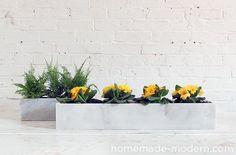HomeMade Modern DIY EP59 Marble Planters Options