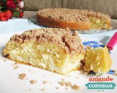 cuca de banana Cake Cookies, Vanilla Cake, Banana Bread, Delicious Desserts, French Toast, Chocolate, Breakfast, Cakes, Food