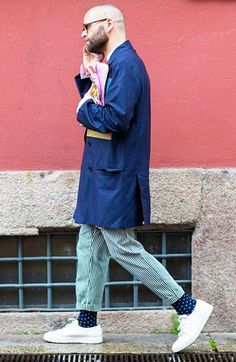 Milan Men's Fashion Week street style spring/summer 2017