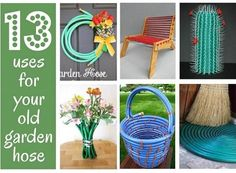 Recipes, Projects & More - 13 Things To Do With Your Old Garden Hose