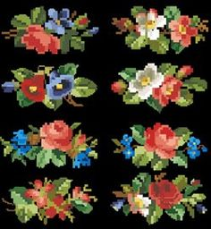 Gallery.ru / Фото #79 - Berlin woolwork. Floralneedlepointdesigner. Платные схемы. - Nadezhda2014