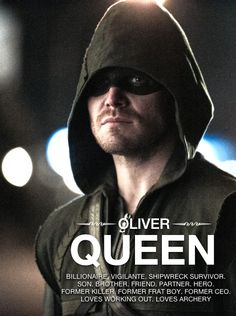 Team Arrow - Oliver Queen