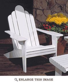 Adirondack Lawn Chair : Large-format Paper Woodworking Plan from WOOD Magazine