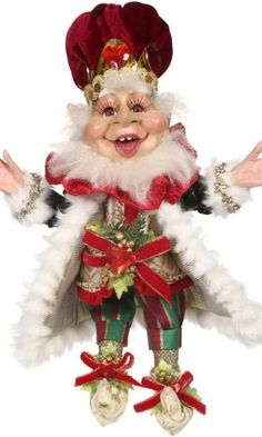 King of Hearts Elf-SM - Official Online Retail Store for Mark Roberts Santa Christmas, Christmas Wreaths, Christmas Gifts, Christmas Ornaments, Christmas Ideas, Mark Roberts Fairies, Elves And Fairies, King Of Hearts, Spring Collection