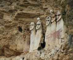 Cloud People of Peru. The figures' gazes are fixed where the first rays of the rising sun will appear over the vast Utcubamba Valley. Known as the Warriors of the Clouds, the Chachapoyas (a name given to them by the Inca who conquered them shortly before the arrival of the Spanish) were an ancient Andean people who inhabited the rain forests of northern Peru. Their civilization was decimated in the 18th century but they remain as a strain within general indigenous ethnicity in modern Peru.