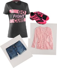 """""""Pink fight"""" by tfdennis on Polyvore"""