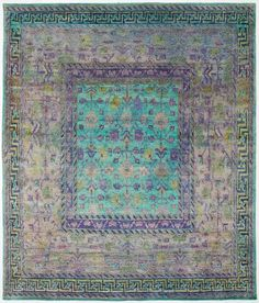 The Most Beautiful Collection Of Rugs Aquasilk 7 8 X12 Abc Carpet Home Eclectic Aesthetica Pinterest Interiors And Room