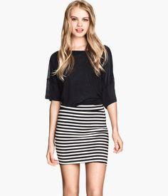 Minifalda de punto | H&M MX