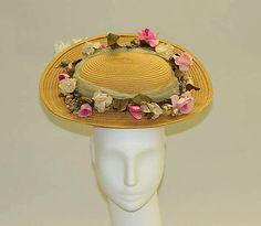 Hat, 1892 - 1895, The Metropolitan Museum of Art