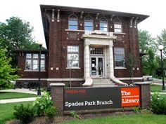 The Indianapolis Public Library Spades Park Branch was added to the National Register of Historic Places. It was completed in 1912.