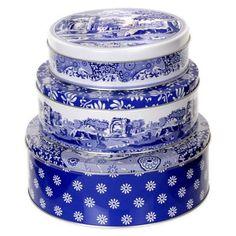 Spode® Blue Italian Nesting Cake Tin (Set of 3) - BedBathandBeyond.com