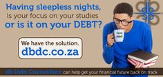 The Legal process of Debt Counselling allows you to pay lower installments and negotiate lower interest rates on your debt. Back On Track, Sleepless Nights, Focus On Yourself, Debt, Counseling, South Africa, You Got This, Finance, Study