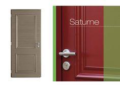 Porte d'entrée Saturne Alu/bois - Portes