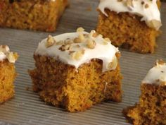 Lighter Carrot Cake with Cream Cheese Frosting