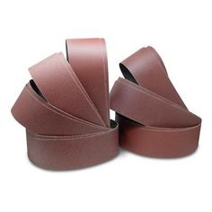 80 Grit 60 6 X 48 Inch Aluminum Oxide Multipurpose Sanding Belts 40 3 Pack