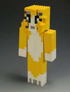 Lego Minecraft Stampylonghead by BrickBum on Etsy