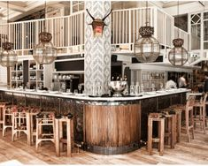 Iberica London. Example of modern rustic and using patterns and specific…