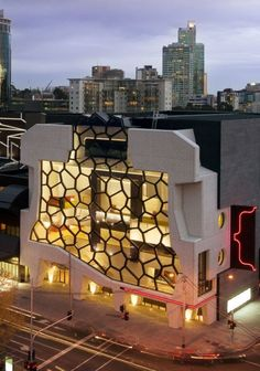 Melbourne Recital center and it's amazing architecture. See how you can live in a beautiful apartment near Melbourne's CBD art precinct at www.gracerealty.com.au