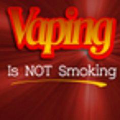 #Vaping is better than smoking
