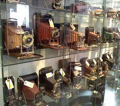 Folding cameras from the Edward K. Kaprelian collection