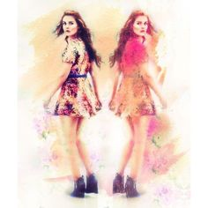 Teen Wolf fan art and outfit appreciation for Lydia ❤ liked on Polyvore featuring home and home decor