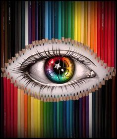 Narcotics Anonymous rainbow eye