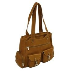 LEATHER CARRY-ALL LADIES TRAVELER