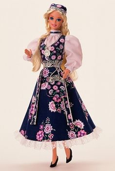 Barbie, Dolls of the World, Norwegian Barbie 1996