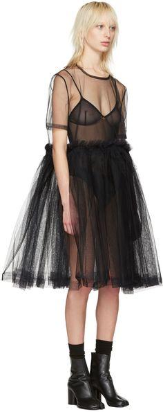 85a988caff Molly Goddard - Black Young Classic Dress Alternative Wedding