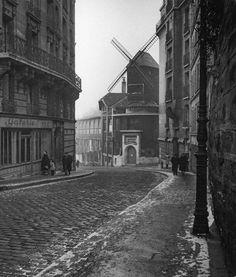 Les moulins de Montmartre en 1946