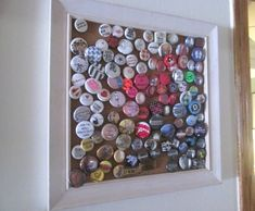 Make your own framed display board for your button collection | Offbeat Home