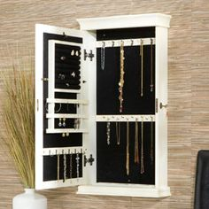 Solutions - Imperial Wall-Mounted Jewelry Cabinet